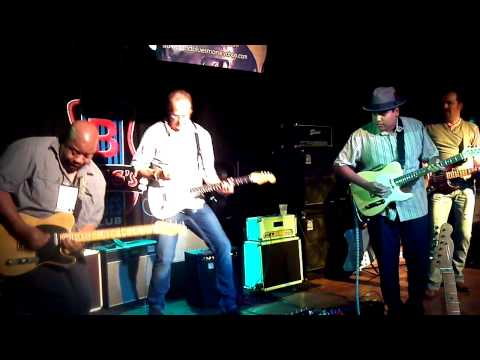Bluesman Vintage NAMM jam at BB Kings Nashville July 14 2012