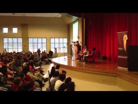 Milkshake Mayfield at Stephens County Middle School