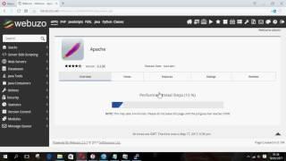 Setting Web server Nginx in Linux ubuntu + panel Webuzo