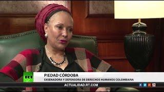 Entrevista con Piedad Córdoba, exsenadora y defensora de los derechos humanos colombiana
