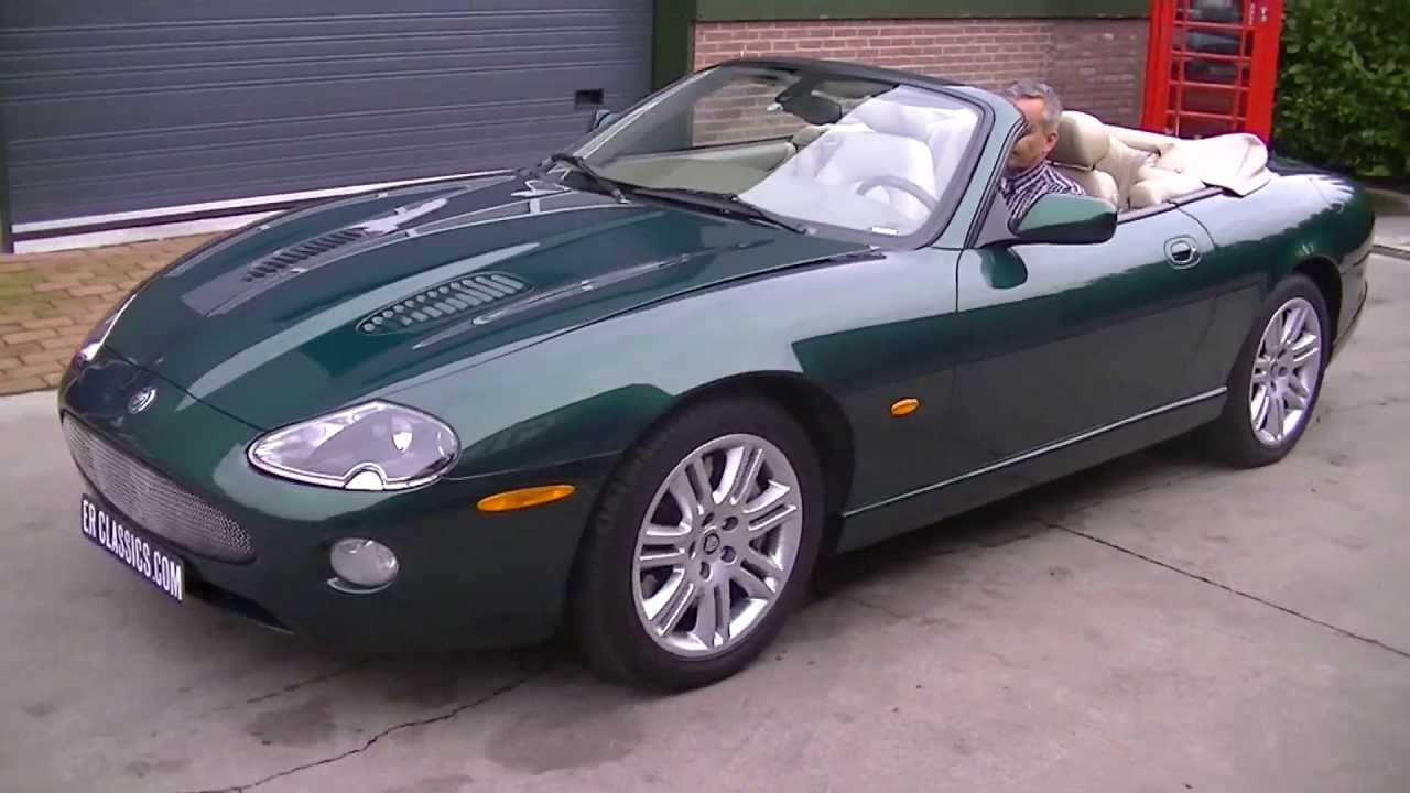 jaguar xkr cabriolet 4 2l video youtube. Black Bedroom Furniture Sets. Home Design Ideas