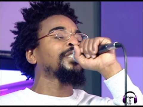 Brain The Tool performance of Chris Aiff on the Hype It Up show Cape Town TV