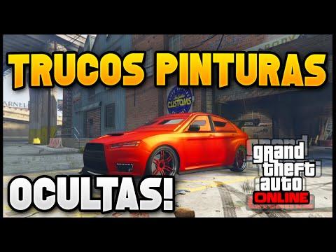 GTA 5 Trucos Pinturas: Top 5 Mejores Pinturas Raras & Ocultas en GTA 5 Online! MATERIA OSCURA & MAS!