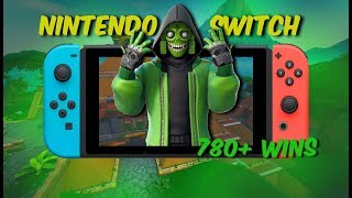 Fortnite Nintendo Switch // high kill solo games - level 55 // 790+ wins