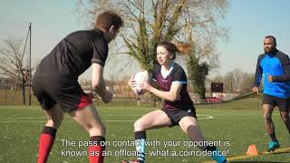 TUTO RUGBY: LES PASSES AU RUGBY / RUGBY PASSES