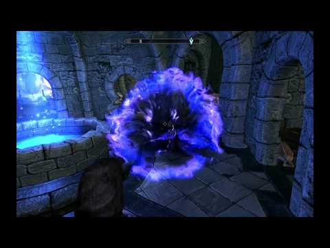 Skyrim - Brelyna Accidentally the Whole Spell (MINOR SPOILER)