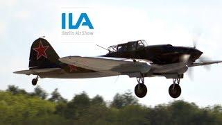 4K / Ilyushin IL-2 Sturmovik - First Flight over Berlin after 73 Years of WW2 @ ILA 2018