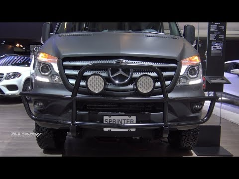 2018 Mercedes Sprinter 4x4 Exterior And Interior Walkaround 2018 Montreal Auto Show