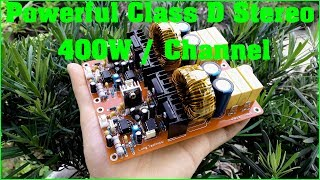 Powerful Class D Stereo 400W / Channel | JLCPCB.COM | PCB Prototype