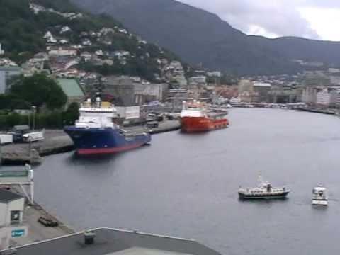 Bergen Seaport . Norway I