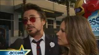 Iron Man 2 Cast on DJ AM's Guest Spot