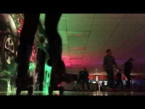 Playing on wheels: Roller skating at Southgate roller rink, Seattle WA