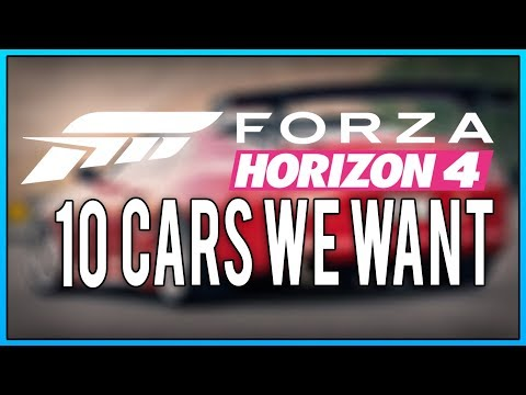 10 Cars we want in Forza Horizon 4 thumbnail