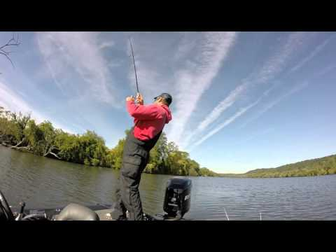 Mohawk River Smallmouth Bass Tournament Action!