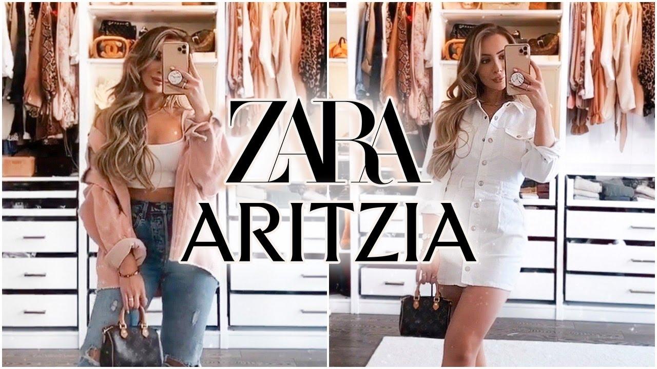 ZARA + ARTIZIA HAUL | BEST BASICS