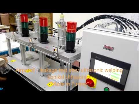 Airproof   Leakage Test System After Ultrasonic Sealing