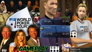 World Poker Tour Gameplay PS2 HD