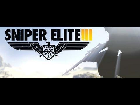 Sniper Elite 3 (SE3) First Official Cinematic Teaser Trailer