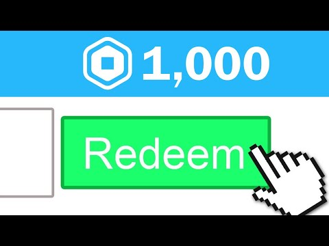 TOP SECRET CODE TO GET 1,000 FREE ROBUX EASY (August 2020) thumbnail
