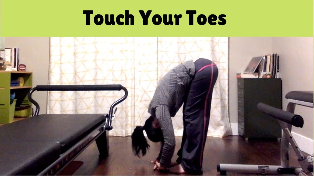 Touch your toes/ How to stretch hamstrings effectively