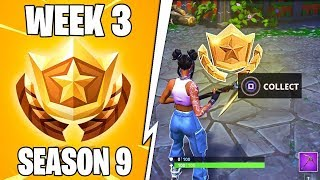 SECRET BATTLESTAR WEEK 3 SEASON 9 LOCATION - Fortnite