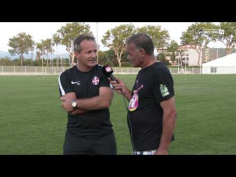 Actu Sport - Interview de Malik VIVANT - Entraineur et Directeur Sportif de l'Olympique de Vale
