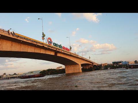Thương quá quê mình Chợ nổi Cái Răng (Floating market) (Phần 1)