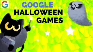 I'M COMMING TO SAVE YOU BUDDY || Google Halloween Games || The Spell Cat - meow
