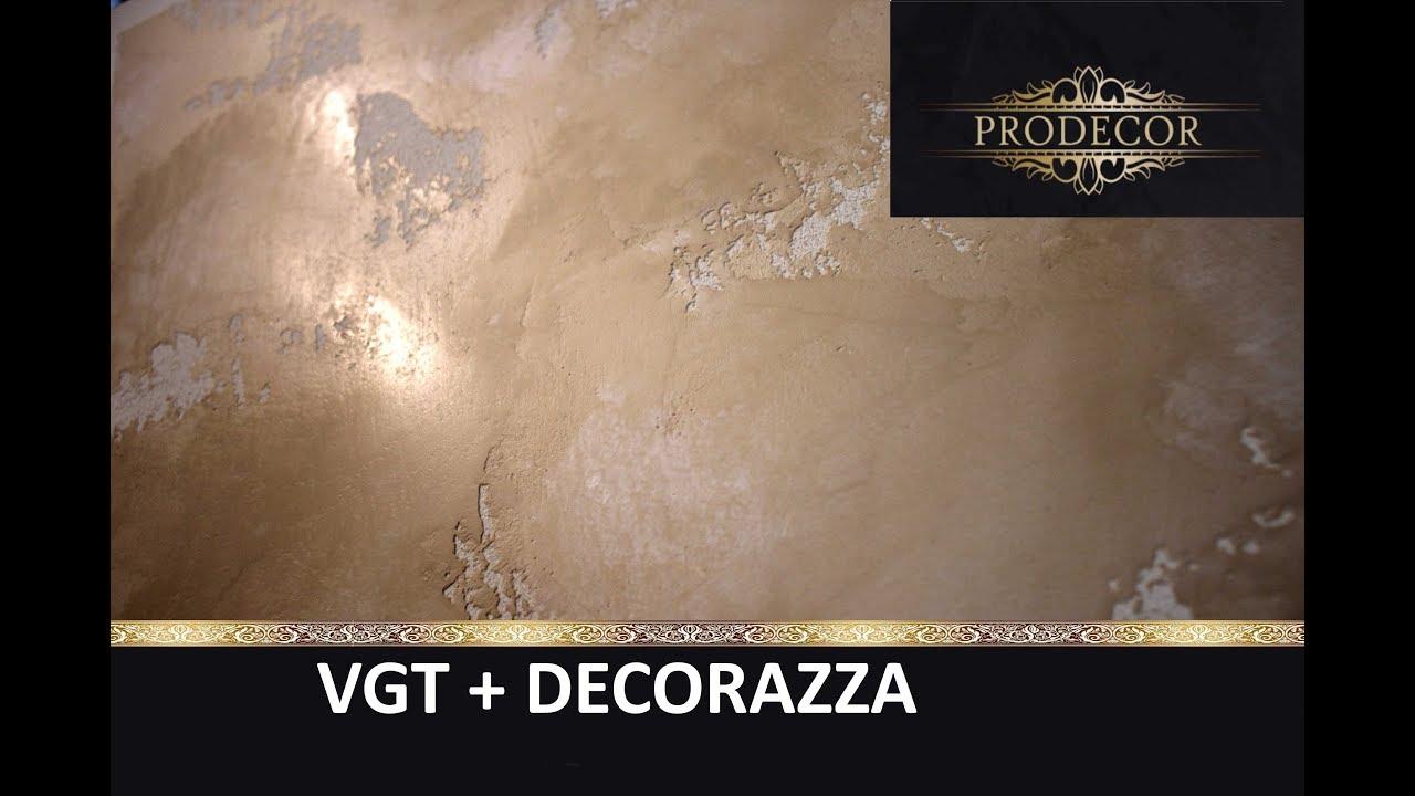 Молодой мрамор из VGT + DECORAZZA / декоративная штукатурка - YouTube