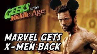 Marvel gets X-Men back as Disney buys 21st Century Fox