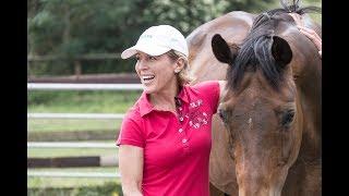 Meredith und Markus Beerbaum, ihre Pferde.  Sosti on Tour