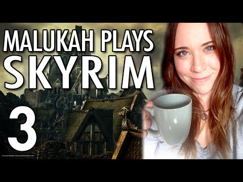 Malukah Plays Skyrim - Ep. 3: DIY Potion Tutorial
