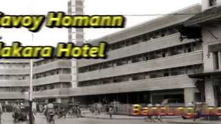 Indonesia Travel : Savoy Homann Hotel located in Asia-Afrika street, Bandung, West Java