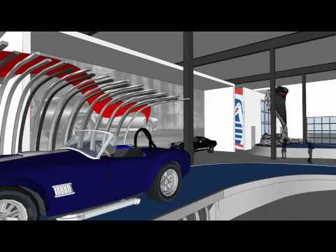 Shelby Automotive Museum Design Animation
