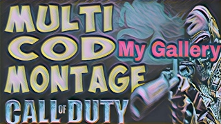 """My Gallery"" A Multi Cod Montage"