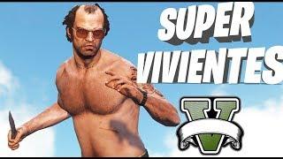 GTA V ROLEPLAY - PARTICIPAMOS EN SUPERVIVIENTES!! 😂🤣- Nexxuz
