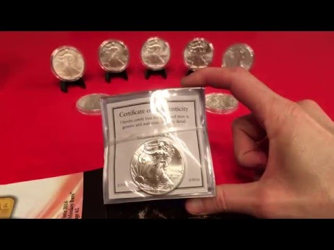 1986-2016 American Silver Eagle Stack - Stacking Journey!