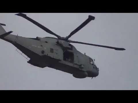 Royal Navy Agustawestland Merlin MK2 HM1 EH101 AW101 ZH836 820NAS Naval Air Squadron Culdrose