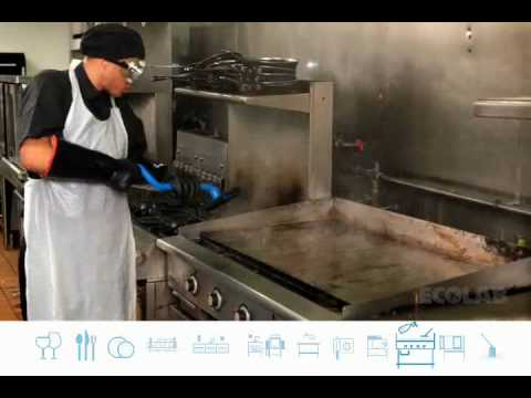 Ecolab Grill Cleaning Training