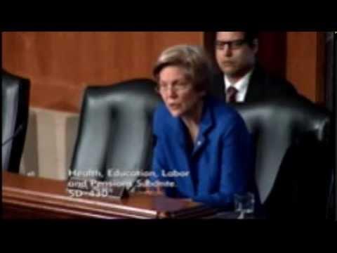 Senator Elizabeth Warren - Department Of Labor Nominations