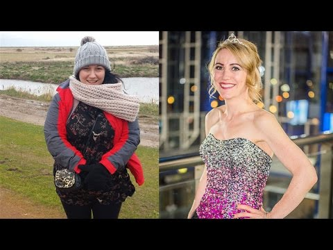 Hollie lost 8st 6lbs to become Slimming World's Woman of the