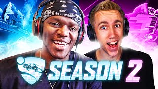 ROCKET LEAGUE SEASON 2 IS HERE! (Sidemen Gaming)