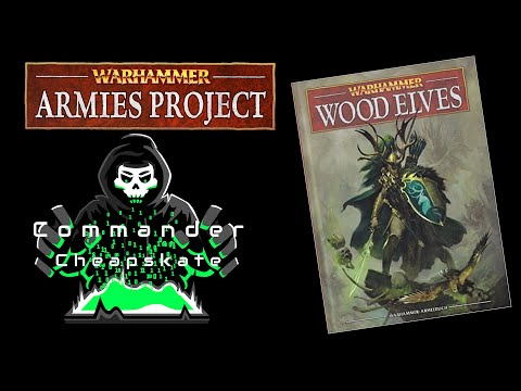 Reviewing Warhammer Armies Project's 9th Edition Wood Elves Army Book