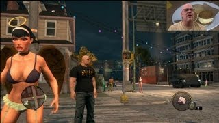 Saints Row 3 The Third Gameplay | Nice Boobs, Tight Butts, Cheat Codes & Violence - YAY!
