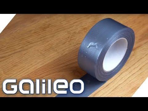 Duct Tape - Unzerstörbarer Alltagsheld?   Galileo   ProSieben