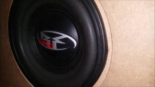 Rockford Fosgate Punch HE2 10 bass ( excursion ) subwoofer test