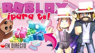 SPEND THOUSANDS OF ROBUX IN GIFTS FOR SUBS 😱🎁 ROBLOX LIVE