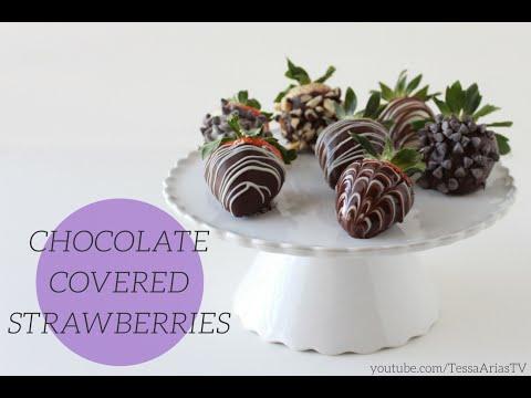 How to Make Chocolate Covered Strawberries | Valentine's Day