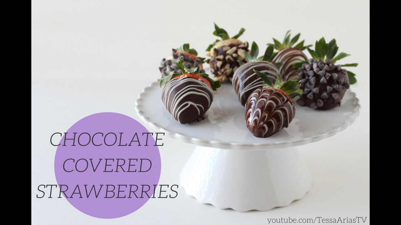 How To Make Chocolate Covered Strawberries Valentine S Day Youtube