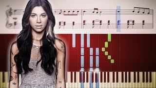 Christina Perri A Thousand Years - EASY Piano Tutorial Sheets.mp3